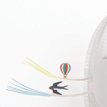 TAKI PRODUCT 創意風扇小玩具(燕子 & 熱氣球)