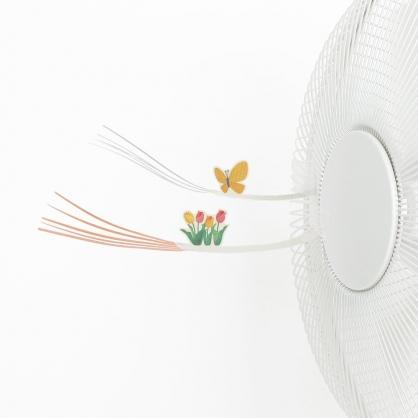TAKI PRODUCT 創意風扇小玩具(蝴蝶&花)
