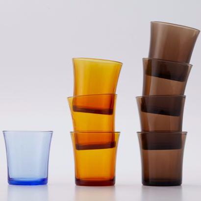 Duralex【6入組】美感復古杯 Lys 210ml(海水藍)