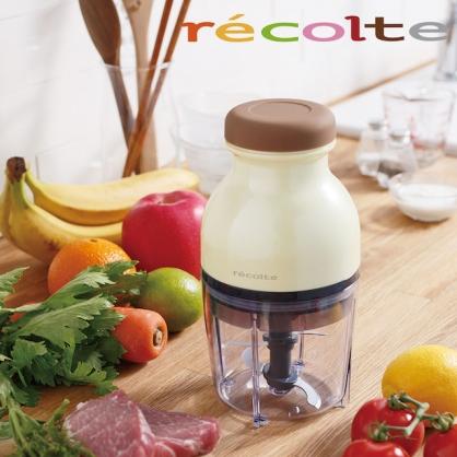 récolte 時尚小型冰沙食物調理機 Quatre (粉嫩黃)