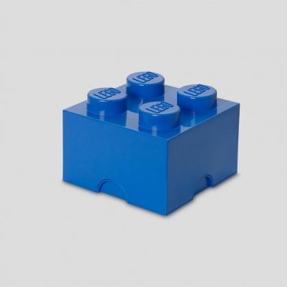 LEGO® 放大版樂高收納箱4凸 (樂高藍)