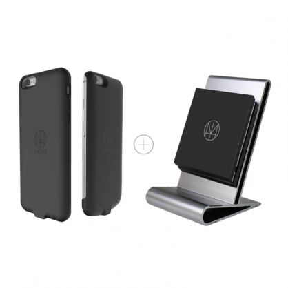 HOMI 無線充電優惠組(CoreStand 無線充電支架+iPhone6/6s 無線