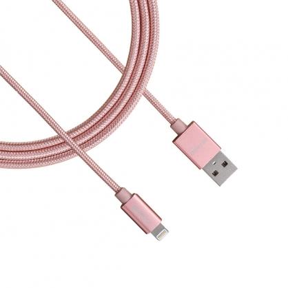 ONPRO 金屬質感 Lightning 充電傳輸線 UC-MFIM (玫瑰金 1M)