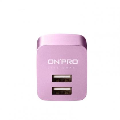 ONPRO 雙輸出極速充電器 UC-2P01 限量金屬色 (風鈴紫)