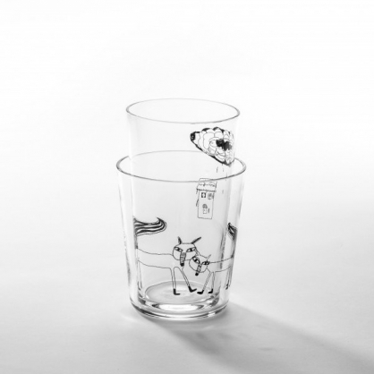 cindymode 空氣感玻璃器皿 WABD (Silver Fox Set)