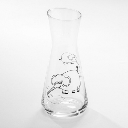 cindymode 空氣感玻璃器皿 (大象壺 Elephant Flask 12oz)