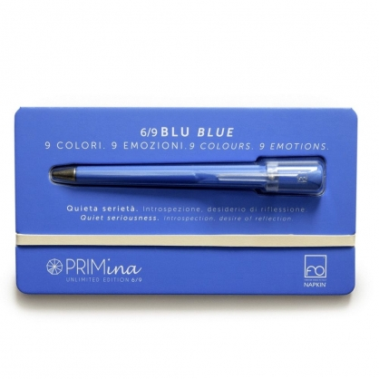 NAPKIN  馬卡龍彩色永恆筆 Primina (藍色blue)
