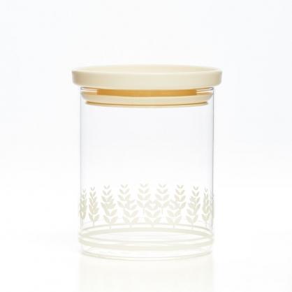 TZULAi 厝內 玻璃密封罐600ML(白稻穗)