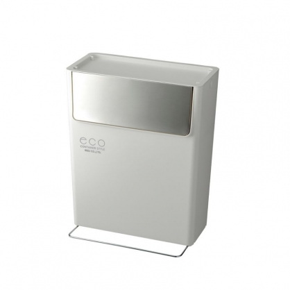 ECO 信箱型垃圾桶 15L (潔淨白)