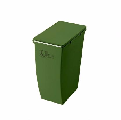 ECO 簡約美型垃圾桶 21L (森林綠 上段用)