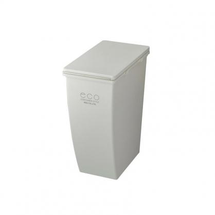 ECO 簡約美型垃圾桶 21L (潔淨白 上段用)