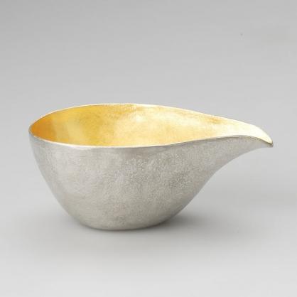 NOUSAKU 能作 100% 「純錫金箔片」手工打製器皿 (L)
