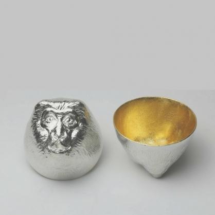 NOUSAKU 能作 金箔生肖造型杯 (猴)