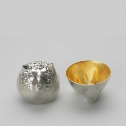 NOUSAKU 能作 金箔生肖造型杯 (羊)