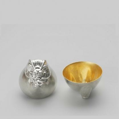 NOUSAKU 能作 金箔生肖造型杯 (龍)