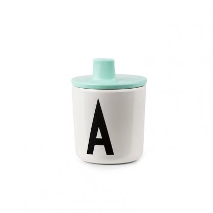 DESIGN LETTERS 兒童字母杯杯蓋 (薄荷綠)