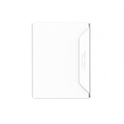 質感A4文件收納夾 NoteBook Modular 白