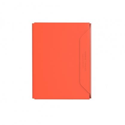 質感A4文件收納夾 NoteBook Modular 橘