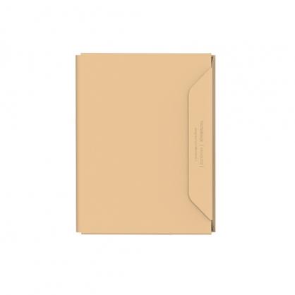 質感A4文件收納夾 NoteBook Modular 淺棕