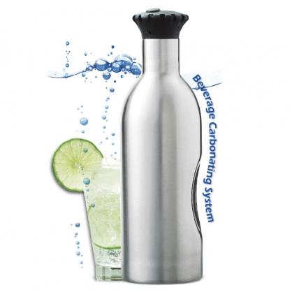 Soda Splash 魔泡瓶 不鏽鋼氣泡水機 1.2 L(活動加贈氣彈共11顆)