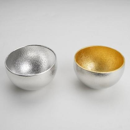 NOUSAKU 能作 100%純錫 雙色搖曳杯組