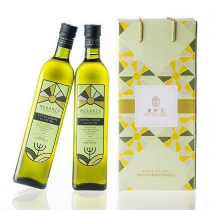 澳根尼特級冷壓初榨橄欖油 500ml (禮盒裝2入)