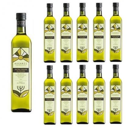 澳根尼特級冷壓初榨橄欖油 500ml (10入組 加贈500ml 2瓶)