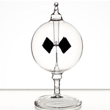 賽先生 太陽能風車(光能輻射計) 透明 小-12cm