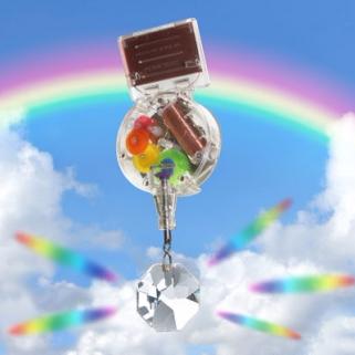賽先生  太陽能彩虹製造機 (吊掛式)