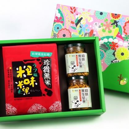 {粗味生活} 米香堅果B 禮盒