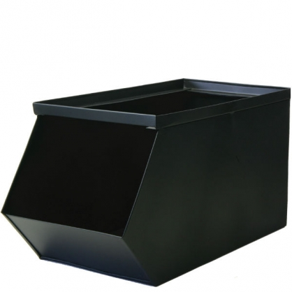 Liam 金屬儲物堆疊架 Burt 黑色
