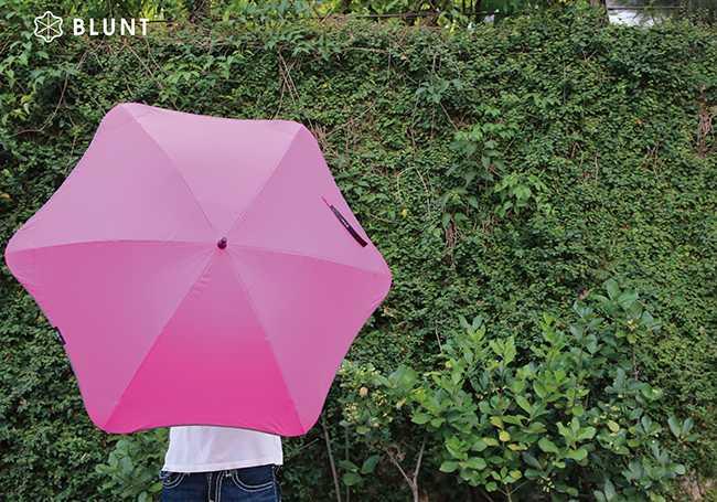 BLUNT 完全抗UV 經典直傘 Classic UV+ 艷桃紅