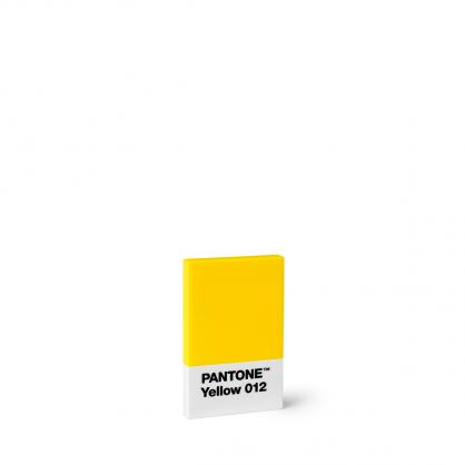 Pantone 色票名片夾 (黃色)