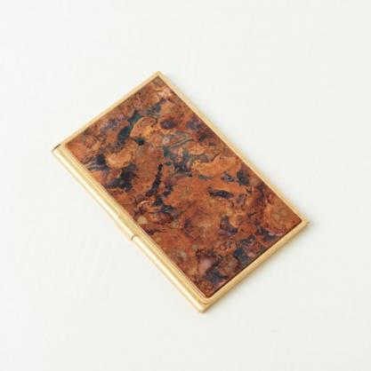 tone 銅彩名片盒 (斑紋孔雀)
