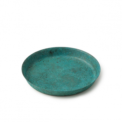 tone 圓滿銅彩盤 (銅藍 S)