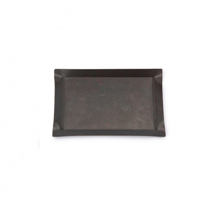 tone 四方銅彩盤 (黑銅 S)