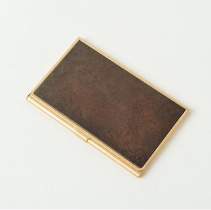 tone 銅彩名片盒 (斑紋黑染)