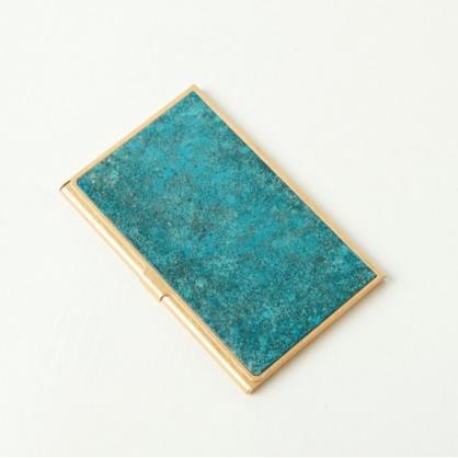 tone 銅彩名片盒 (斑紋青銅)