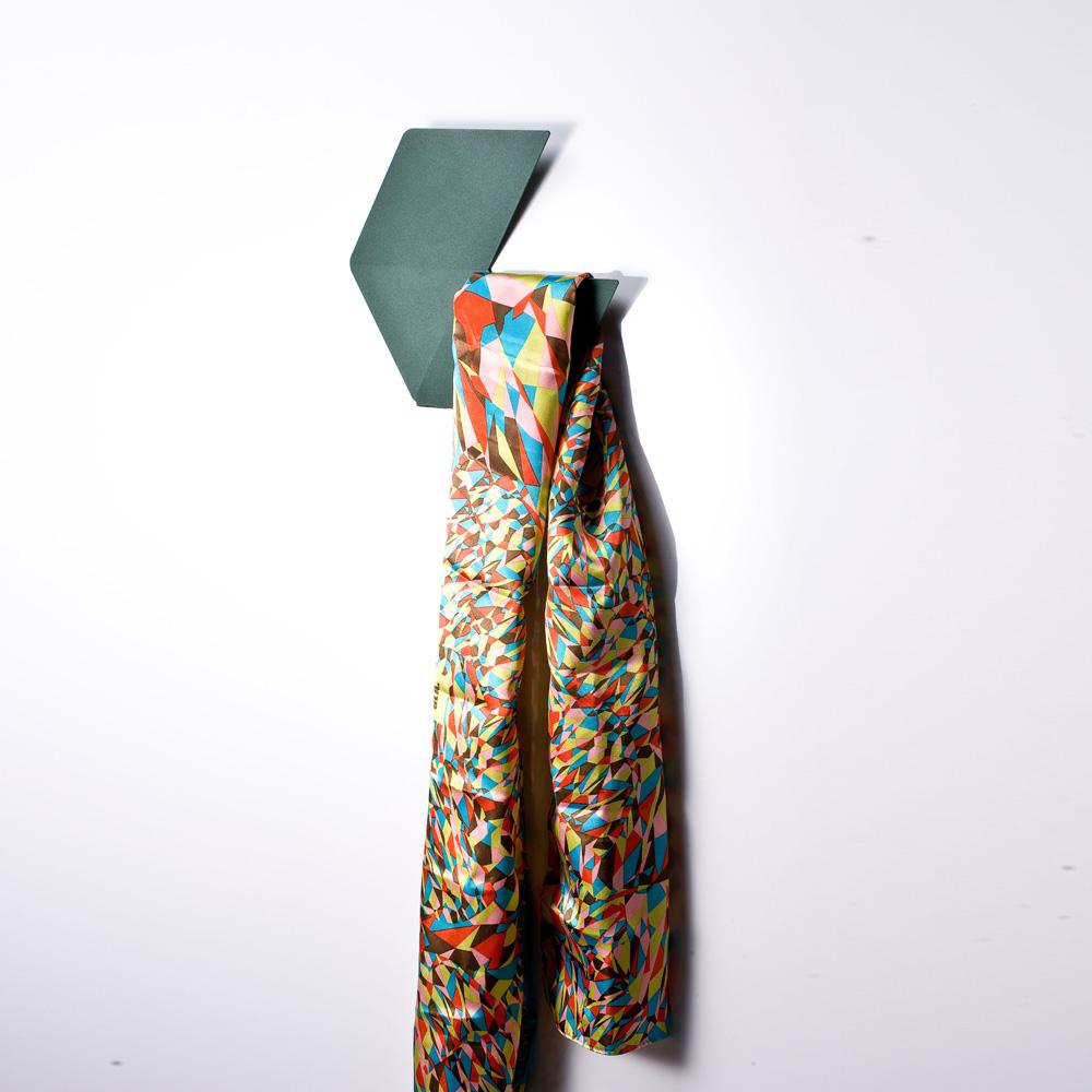 Fold & Plait 大六角-錯視壁掛(白色)