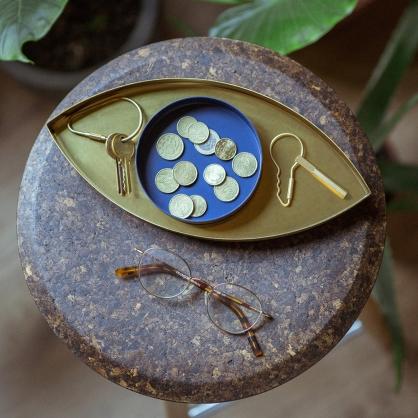 Doiy 瓦倫西亞之眼 置物盤(藍眼)