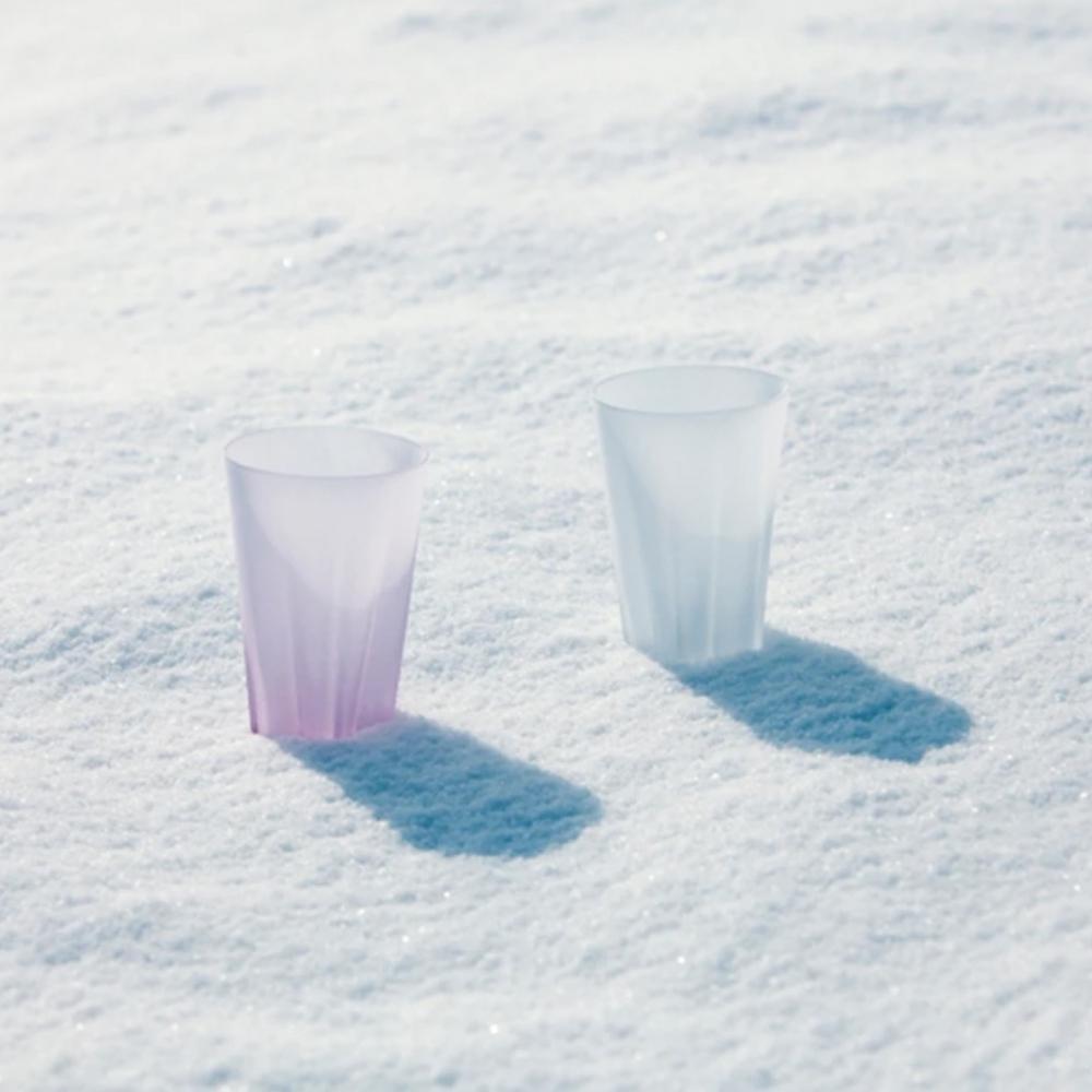 100% 櫻花玻璃杯 雪櫻1入組 SAKURASAKU glass(240 cc) 不挑色