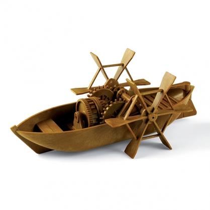 賽先生 收藏達文西 - 槳葉船