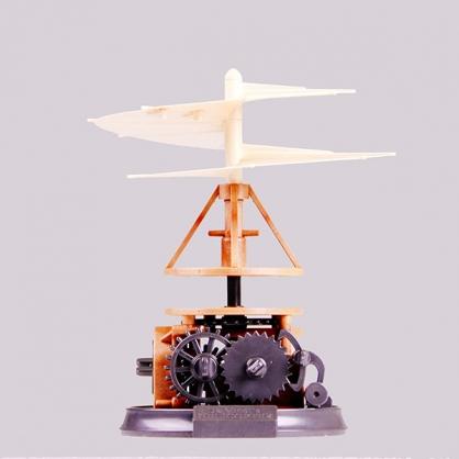 賽先生 收藏達文西 - 螺旋直升機