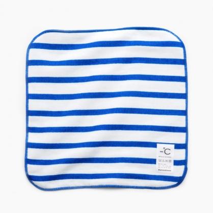 -℃ MINUS DEGREE 降溫涼感手巾 柔軟 藍