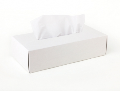 Tissue Box Case 面紙盒(白)