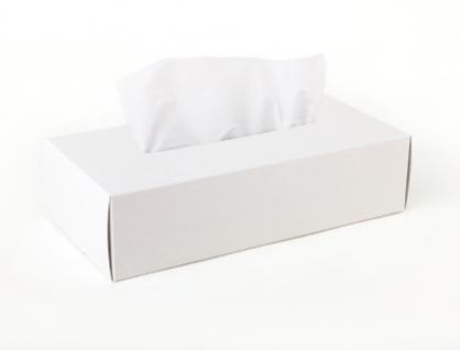 Tissue Box Case 面紙盒(白)