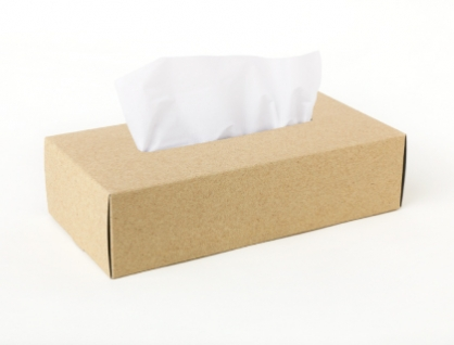 Tissue Box Case 面紙盒(褐)