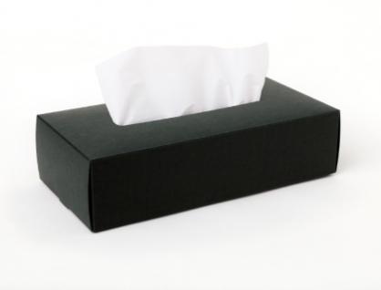 Tissue Box Case 面紙盒(黑)
