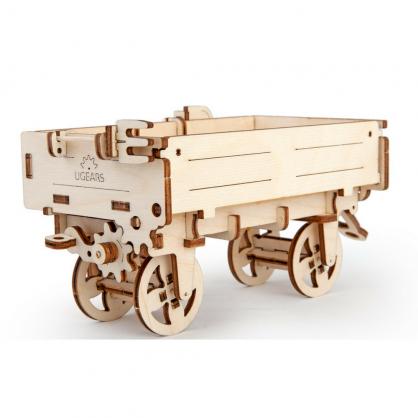 Ugears 拖拉機【配件】拖車 Tractor's trailer