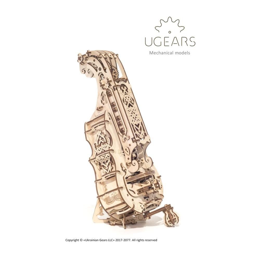 Ugears 手搖風琴 Hurdy-gurdy